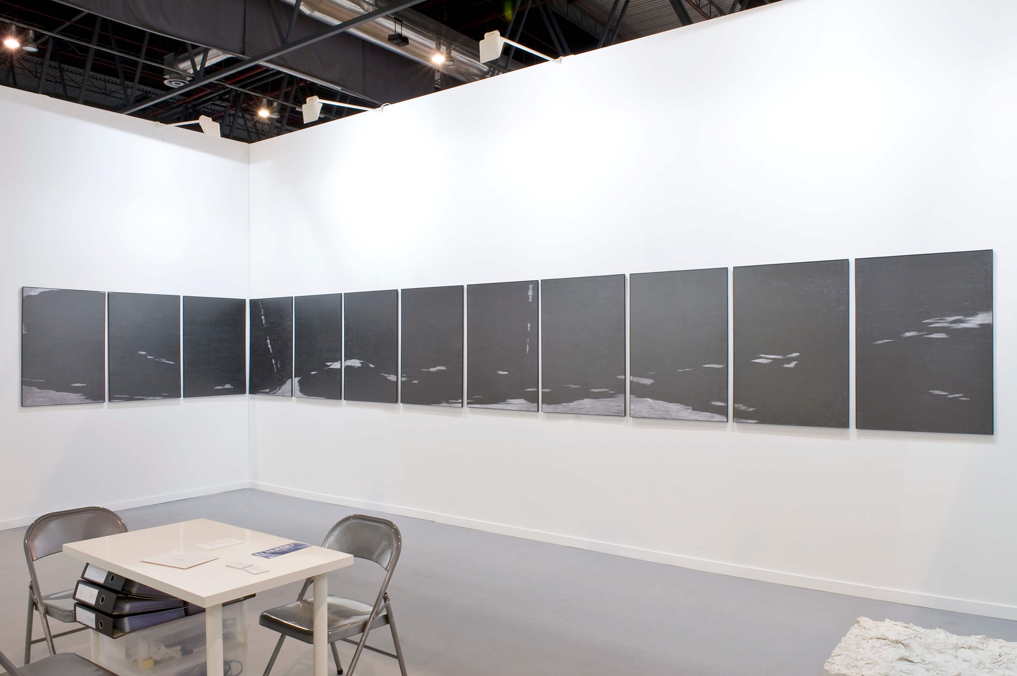 Installation view: ProjecteSD, 9D11 | ARCO 2014 | ProjecteSD