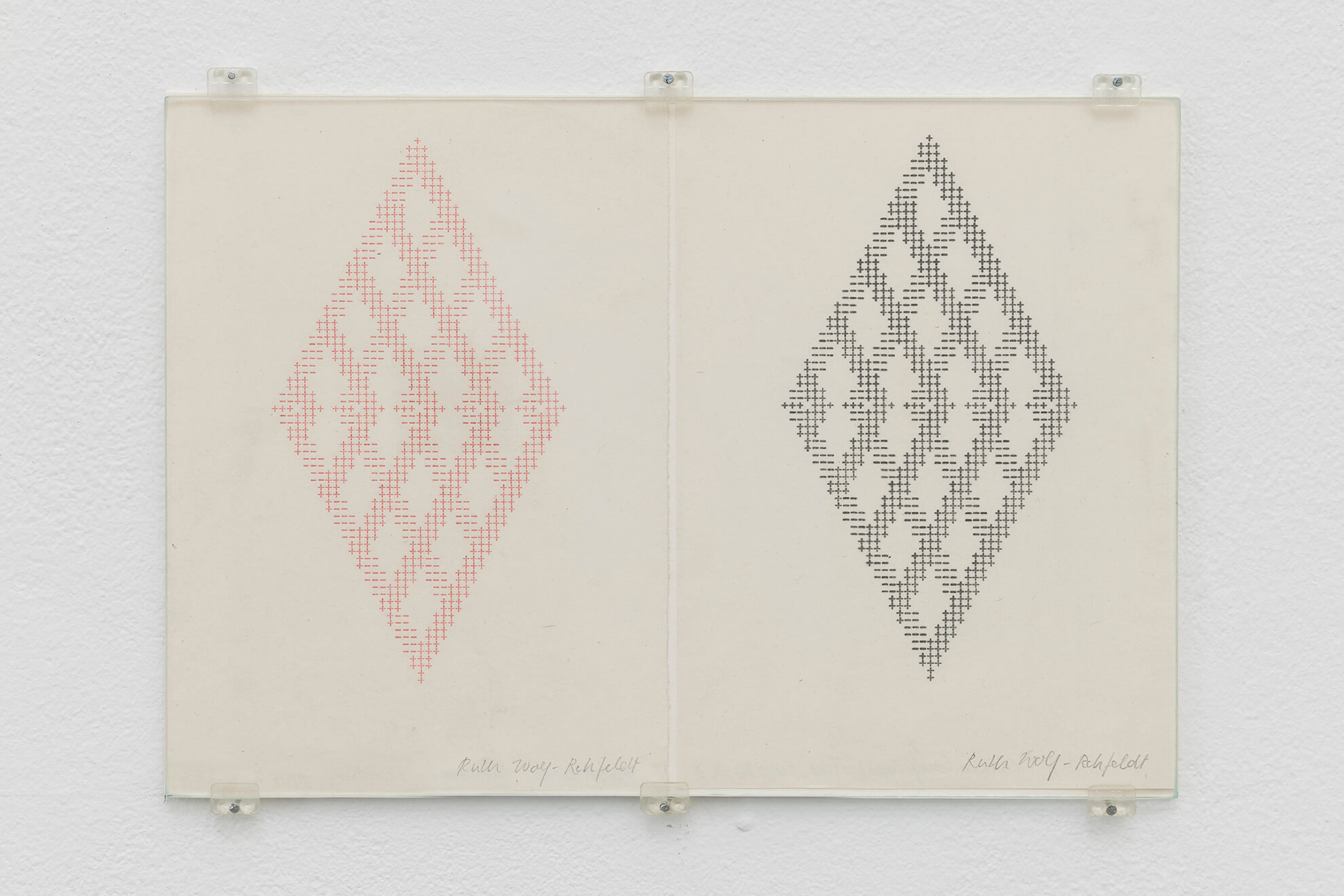 RUTH WOLF-REHFELDT.Untitled,mid 70's | Borrowed Space and Regular Features | ProjecteSD