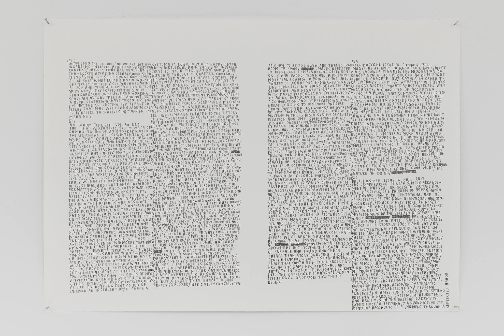 MARC NAGTZAAM. Regular Features Vol. VII, No. 492-528, 2012-2014 | Borrowed Space and Regular Features | ProjecteSD