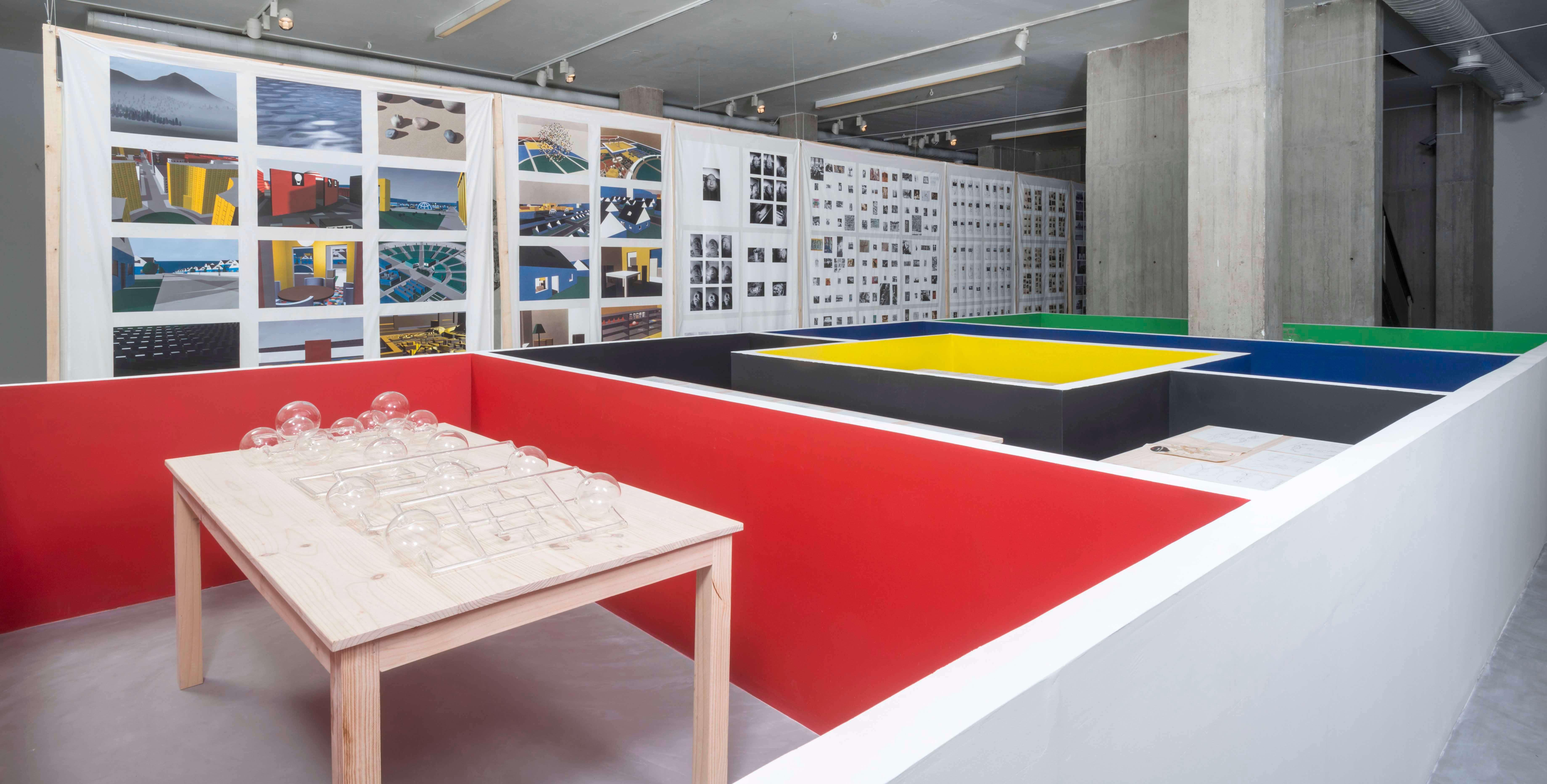 Installation view: Matt Mullican – Representing the Work, NC Arte, Bogotá, 2019 |  | ProjecteSD