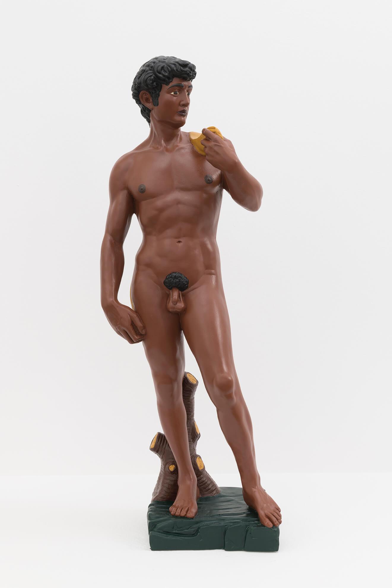 HANS-PETER FELDMANN. David (black), 2008 | El Museu Imaginari / El Museo Imaginario / The Imaginary Museum | ProjecteSD