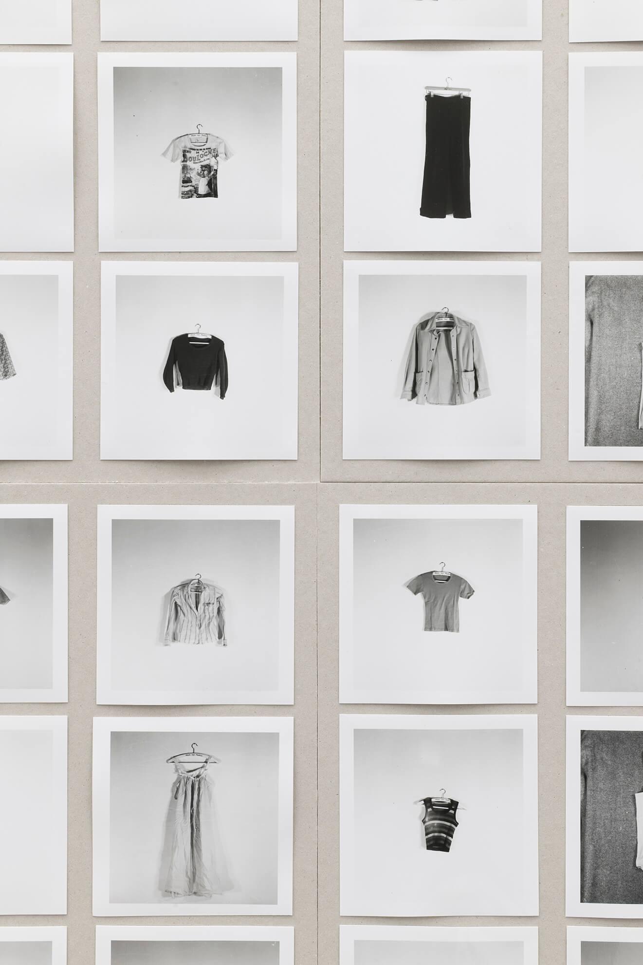HANS-PETER FELDMANN. All the Clothes of a Woman, 1975. (Detail) | Ella té molts noms / Ella tiene muchos nombres / She has many names | ProjecteSD