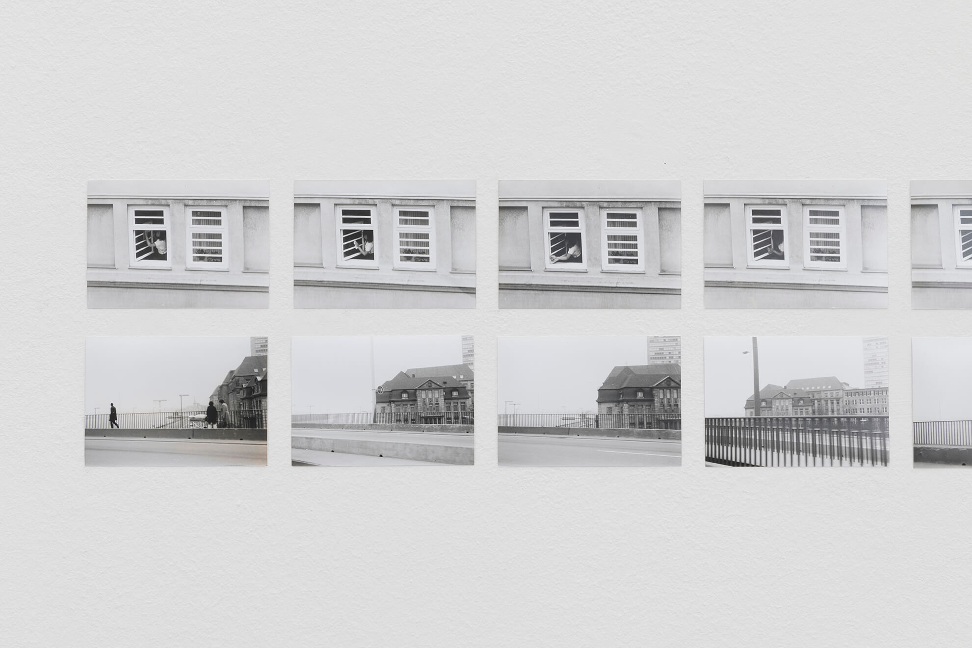 Time Series – Window Cleaner, 1970, Time Series, Bridge, 1970, details | Another Art Exhibition | ProjecteSD