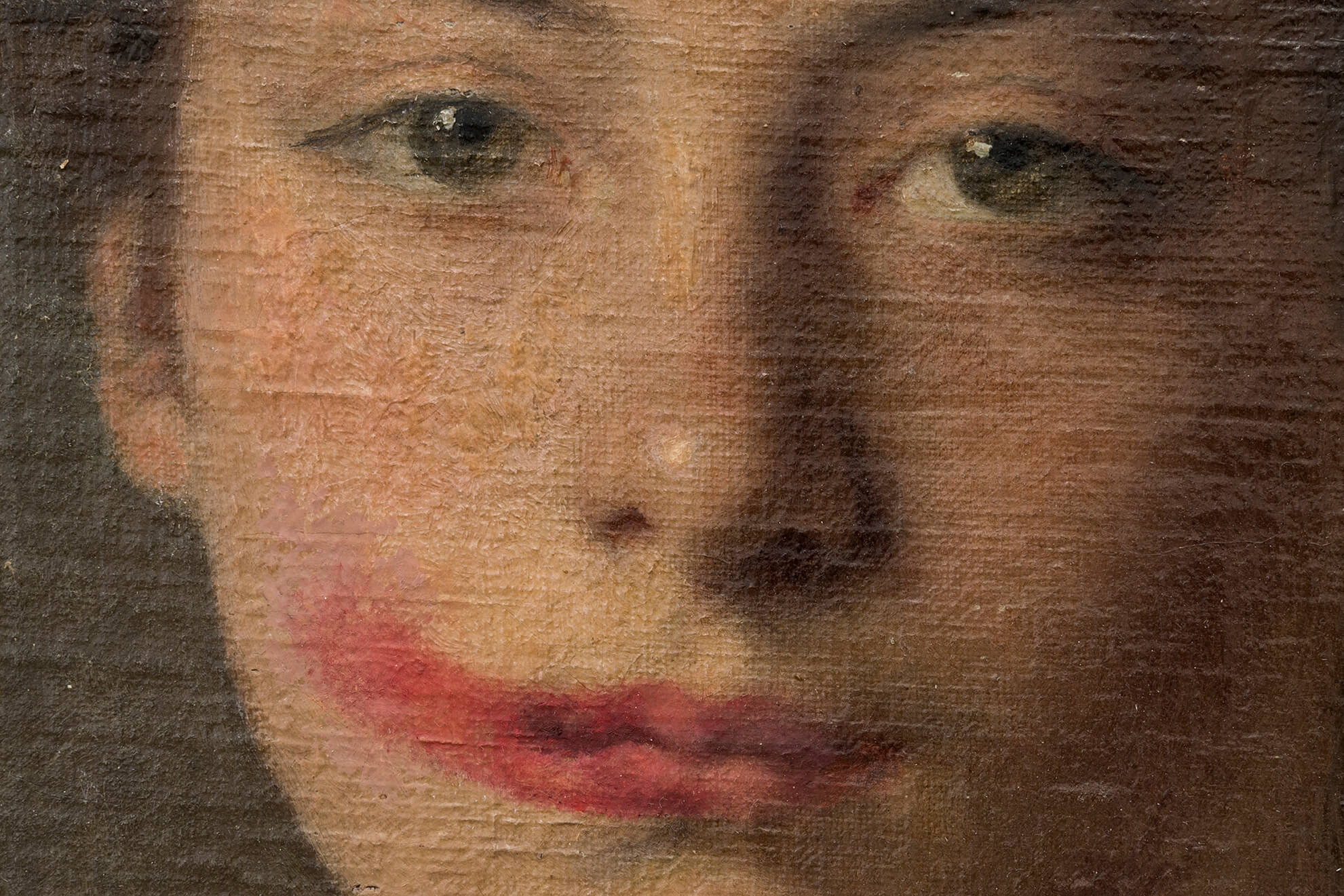 Woman with red lipstick, n.d. | Another Art Exhibition | ProjecteSD